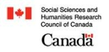 Anne was awarded the renowned SSHRC Grant in 2004.